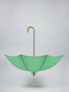 Cocktail Glass & Umbrella : Daniel Eatock