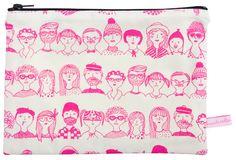Mini Fourre Tout Faces Pink Collection Automne-Hiver 2013