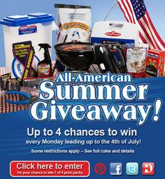 All American Summer Giveaway!