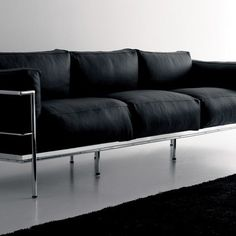 Our Le Corbusier Grand Confort Soft Three Seat Sofa (LC3)