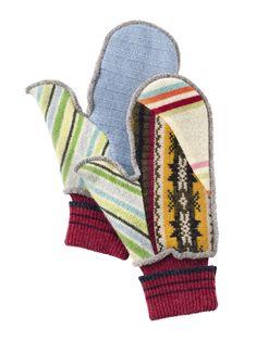 Recycled Sweater Mittens: Rumor Mittens | Gardener's Supply