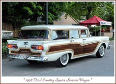 1958 Ford Country Squire Station Wagon | Flickr - Photo Sharing!