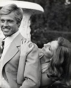Robert Redford and Barbra Streisand in a promotional portrait for The Way We Were (1973). solidair:  The Way We Were promo shot