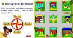 Maps & Direction - Interactive Learning Sites for Education - These are not necessarily for ELLs, but the activities I tried out would be okay for that population.
