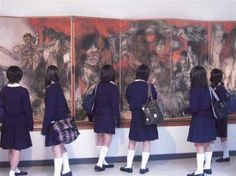 Peace Museums of the World Nanjing, Hiroshima, African American History, 30 Years, Painters, Scene, Museum, Peace, Japan