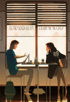 pascal campion: Coffee Sketching