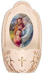 Holy Water Fonts, include a free Bottle of Lourdes water, Direct from the miraculous spring at the Grotto. Water Font, Catholic Gifts, Holy Family, Virgin Mary, Miraculous, Decorative Plates, Fonts, Designer Fonts, Sagrada Familia