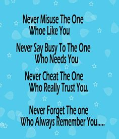 Never Never Never u2013 Love Quote
