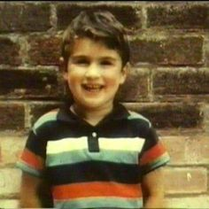 """""""I suppose maybe if I had been an attractive child, I would have had less inclination to push my physical presence."""" ~ George Michael George was an attractive child Beautiful Voice, Most Beautiful Man, George Michael Young, George Michel, Andrew Ridgeley, Michael Love, Music Happy, Baby George, Rugby Players"""