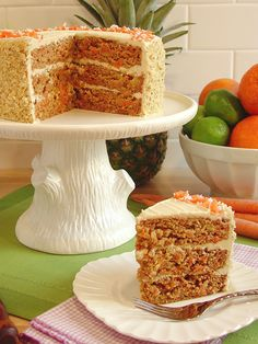 """Paleo Carrot Cake with Cashew-Coconut Buttercream   No """"Cheap Trick"""": Real Deal Carrot Cake, Paleo-ized {Dairy-Free, Grain-Free, Paleo}"""