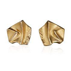 PAIO  Design Björn Weckström / Gold Earrings / Lapponia Jewelry / Handmade in Helsinki