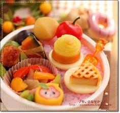 autumn sweets bento ♥ Bento