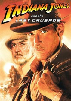 Indiana Jones and the Last Crusade    Released May 24, 1989 • PG-13    IMDb      8.3 /10 by IMDb users     Director:   Steven Spielberg    Starring:   Harrison Ford, Sean Connery, Denholm Elliott, Alison Doody, John Rhys-Davies