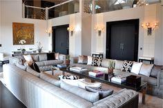 Interior Architecture showroom in Mies - Switzerland Living Room Grey, Interior Design Studio, Geneva, Conference Room, Table, Projects, Furniture, Home Decor, Nest Design