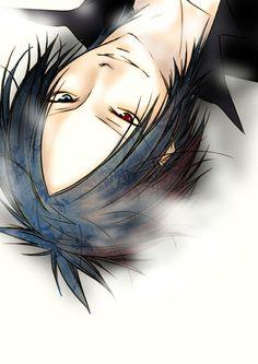 anime heterochromia / odd eyes blue red (Rokudo Mukuro Katekyo Hitman Reborn)