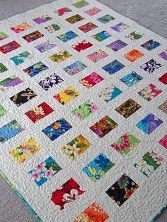 Hawaiian Postcards quilt