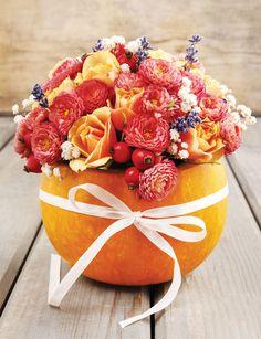 DIY Pumpkin Bouquet | Capper's Farmer DIY