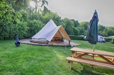 Bell Tent Glamping Norfolk Campsite Woodland Quiet