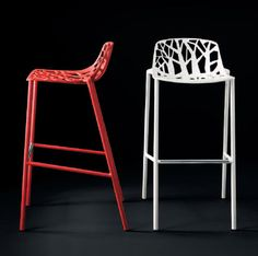 Contemporary stool / bar FOREST : 6800 by Robby & Francesca Cantarutti FAST SPA