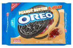 Peanut Butter & Jelly Oreos