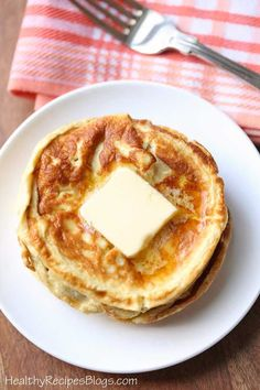 Low Carb Cream Cheese Pancakes. 1/2 block cream cheese,, 3 eggs,, dash of cinnamon and dash of vanilla extract. I use my bullet to blend (less air), this is a thin batter,
