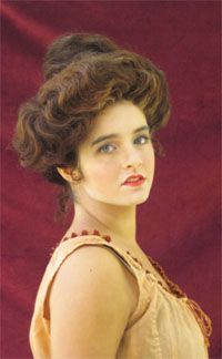 Victorian Beauty, tips & info on their make-up & hair