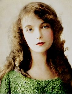 Lillian Gish colorized