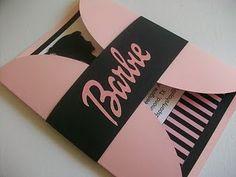 Barbie invite