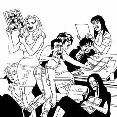 The Great Comic Book Heroes: Happy 55th Birthday Jaime Hernandez!