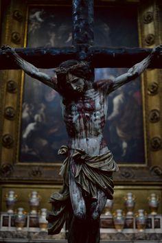 San Gaudioso catacombs- Naples... JESUS I TRUST IN YOU.