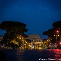 Lugares que visitar en Roma #Roma #Italia #Italy #Europe #Europa #Coliseo #night #noche #viajar #travel