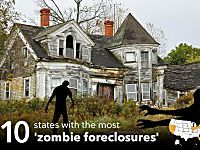 Home, dead home: 10 states with the most 'zombie foreclosures'