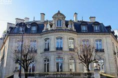 Hôtel Vilgruy (1865) 9, rue François-Ier et 16, rue Jean-Goujon Paris 75008. Architecte : Henri Labrouste.