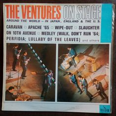 #poprock South Africa Pressing #vinylrecords The Ventures, Wipe Out, Pop Rocks, Vinyl Records, South Africa, Shirt Designs, Around The Worlds, England, Japan