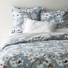 Fleur Bed Linens    Crate and Barrel