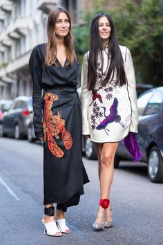 People Wore Their Best Gucci to Gucci on Day 1 of Milan Fashion Week…