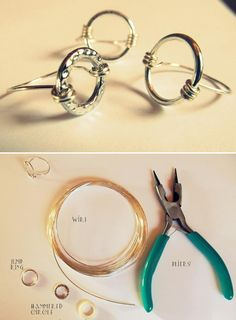 Top 10 Best DIY Rings  for Troy's rattlesnake jewelry!