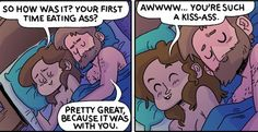 Couple Moments, College Humor, Pillow Talk, Cuddling, Family Guy, In This Moment, Comics, Funny, Dorkly