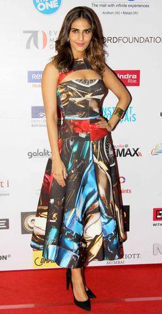 Vaani Kapoor at MAMI 2014 closing ceremony. #Bollywood #Fashion #Style #Beauty