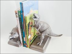 DIY Kids' Toy Bookends