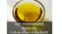 Hey guys, Have you tried using fenugreek oil for hair yet? I have already shared in the past why and how I use fenugreek for my hair growth and Diy Hair Oil, Best Hair Oil, Hair Growth Treatment, Hair Growth Oil, Fenugreek For Hair, Fenugreek Benefits, Green Tea For Hair, Hair Fall Control, Oil For Hair Loss