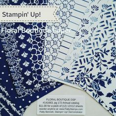 1000 Images About Stampin Up Designer Papers On