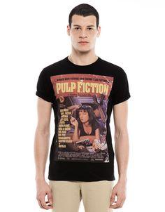 Bershka Mexico - PULP FICTION T-shirt