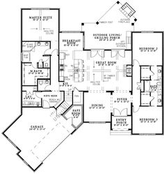 Blair Lane House Plan 2408 Sf Not Sure About The Safe Room But Kid S