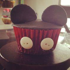 Delicioso cupcakes de Michey Mouse