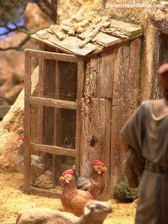 belenistas de la Isla. Fotos Christmas Nativity Scene, Nativity Crafts, Nativity Scenes, Christmas Lanterns, Fairy Houses, Beautiful Christmas, Decoration, Creative, Outdoor Decor