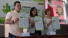 <p>Chihuahua, Chih.- El Congreso del Estado lanzó la convocatoria Premio a la Responsabilidad Medioambiental 2017, con el fin de premiar aquellas acciones