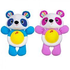 Playskool Ninnili Uyku Arkadaşim Fiyatı:49.90TL yerine 39.90TL Ninnili Uyku Arkadaşım Pandanın karnı bir sarılışla ışıldıyor ve bebeklerin huzurla uykuya dalmasına yardımcı oluyor.