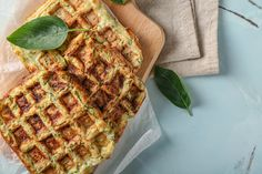 Waffles, Pancakes, French Food, Paleo, Healthy Recipes, Healthy Food, Muffin, Breakfast, Totalement