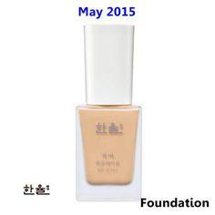 [ Hanyul ] Cover Foundation SPF15 PA+ 30ml(New2015), Korean Best Cosmetics, Free Shipping